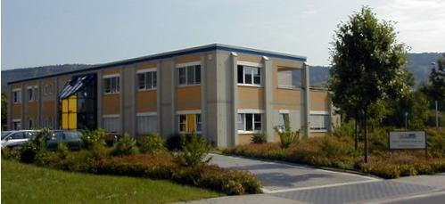Firmengebäude im Jahr 1999