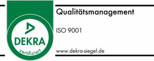 DEKRA-Siegel ISO 9001:2008